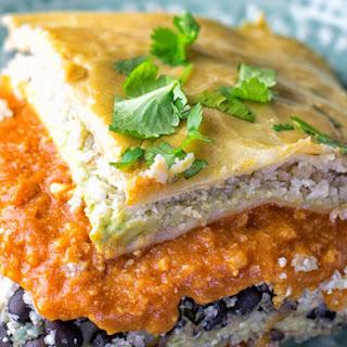 Cauliflower Rice Enchilada Casserole Recipe