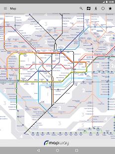 Tube Map London Underground Screenshot 14