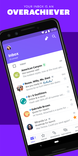 Yahoo Mail – Organized Email screenshot 1