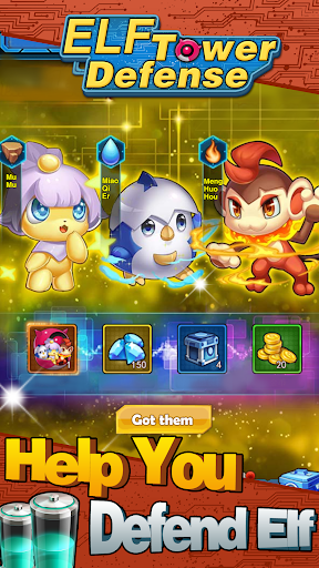 ELF Tower Defense 1.0.0 screenshots 2