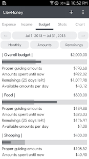 ClevMoney - Personal Finance- screenshot thumbnail