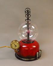 Photo: steampunk plasma globe