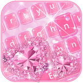 Love Diamond Keyboard Theme