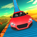 Modern Impossible Tracks Car Stunts: Scary Drive icon
