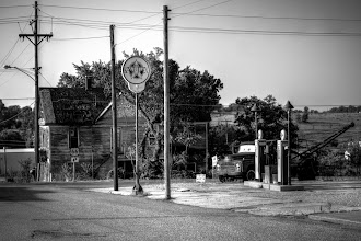 Photo: Get your kicks on Route 66 Next to the gas pumps is the tow truck that inspired Mater in Pixar's Cars. In the background is a former brothel. Galena, KS  #365project curated by +Susan Porter+Simon Kitcher+Vesna Krnjicand +Patricia dos Santos Paton  #americana