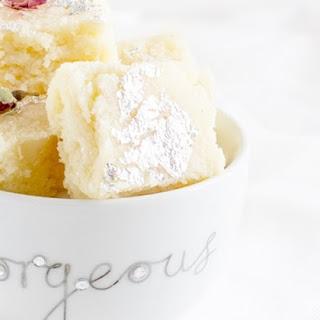 Rose Coconut Barfi - Fudge - #Navratrispecial
