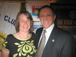 Photo: First Lady Jackie and President Dennis Micare - June 5, 2010