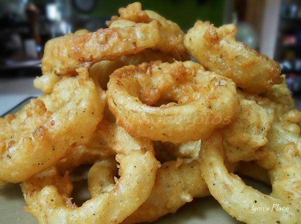 Onion Rings Extraodinaire Recipe