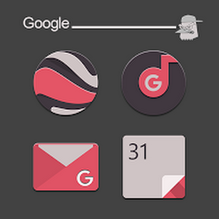 Cikukua Icon Pack v2.0.1
