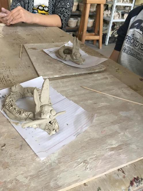 Żabki: Zajęcia z ceramiki w Pałacu Młodzieży