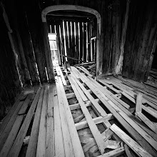 Photo: Bodie is a ghost town in the Bodie Hills east of the Sierra Nevada mountain range in Mono County, California, United States, about 75 miles (120 km) southeast of Lake Tahoe. It is located 12 miles (19 km) east-southeast of Bridgeport, at an elevation of 8379 feet (2554 m).  As Bodie Historic District, the U.S. Department of the Interior recognizes it as a National Historic Landmark. The ghost town has been administered by California State Parks since becoming a state historic park in 1962, and receives about 200,000 visitors yearly