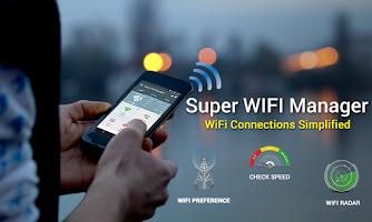 Screenshot of Super WiFi Manager