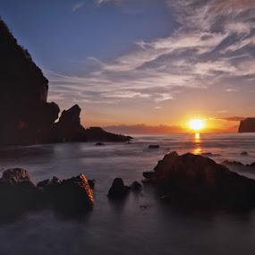 Baler I by Jun  Gomez - Landscapes Sunsets & Sunrises