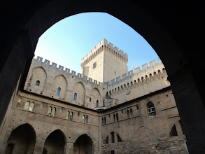 Photo: Avignon Palace of the Popes