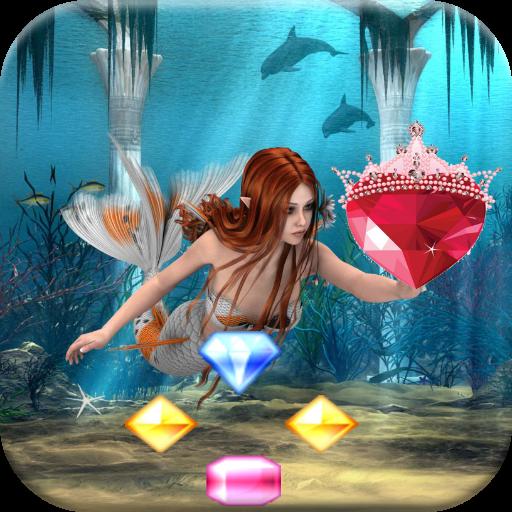 atlantis jewels dive - match 3