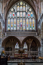 Photo: Exeter Cathedral - Sanctuary, Stained glass. Captured @ Exeter, Devon, England, United Kingdom