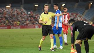 Pizarro Gómez pitó el Almería 0-1 Málaga.