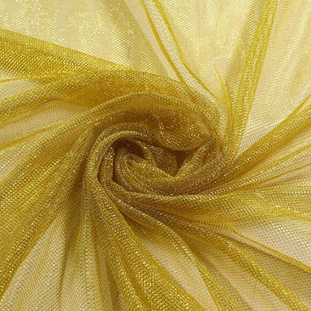 Glitternät - gul