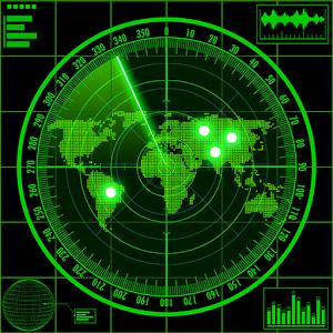 Radar locator UFO simulator icon do Jogo