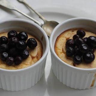 Crustless Blueberry Cheese Cake