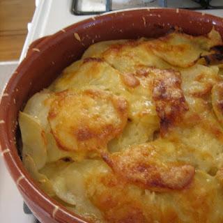 Potato Leek Gratin.