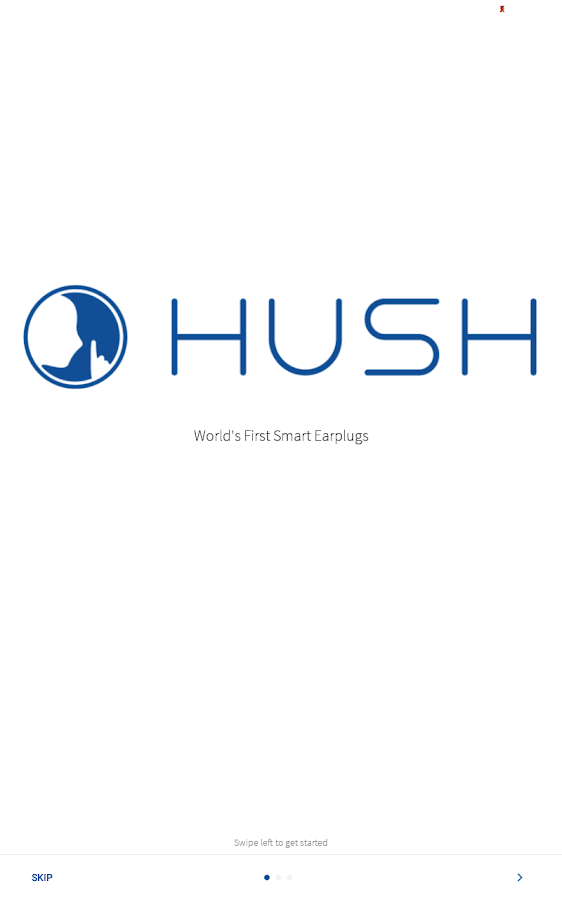 Hush Smart Earplugs- screenshot