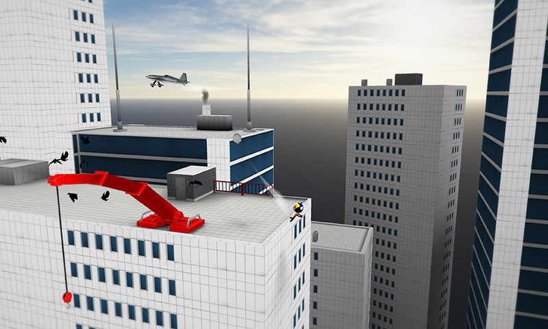 Stickman Base Jumper 2 – Screenshot