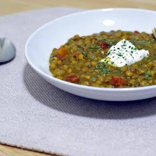 Curry Lentil Soup.