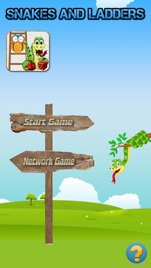 Game Ular Tangga- screenshot