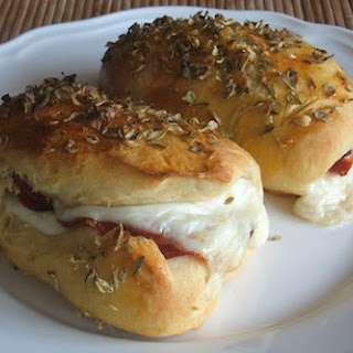 Bread With Ham And Cheese.