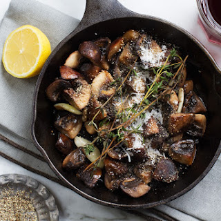 Pan Roasted Mushrooms
