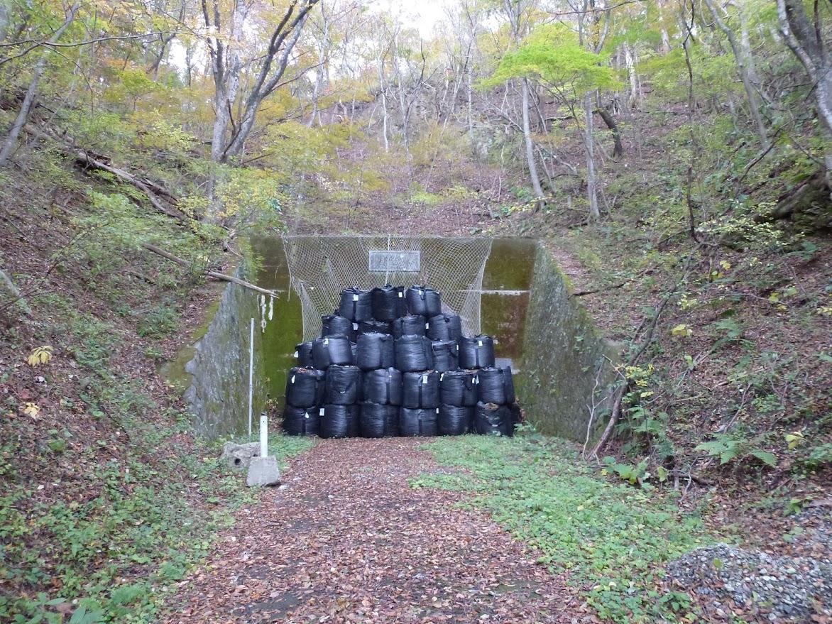 水界隧道(登米市東和町側)
