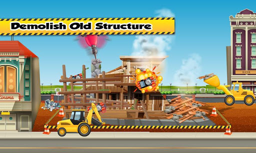 Build A Pizza Parlor: Bakery Construction Builder apktram screenshots 5