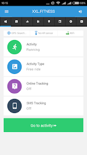XXL FITNESS Tracker- screenshot thumbnail