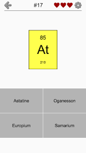Chemical elements and periodic table symbols quiz android apps chemical elements and periodic table symbols quiz screenshot thumbnail urtaz Gallery