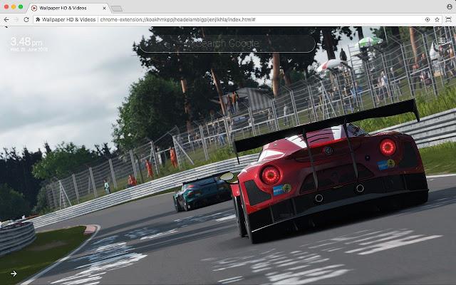 Gran Turismo Sport Car HD Wallpaper New Tab