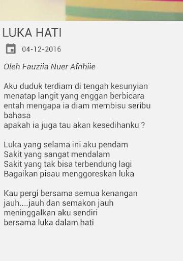 Download Puisi Cinta Sedih Galau Google Play Softwares