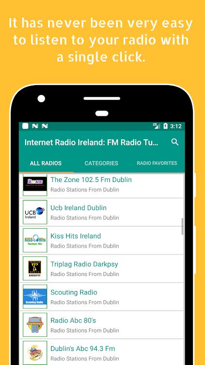 Internet Radio Ireland: FM Radio Tuner Ireland App