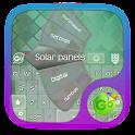 Solar panels GO Keyboard icon
