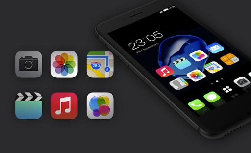 Stylish launcher theme for New iphone 7 2.1.7 screenshots 4