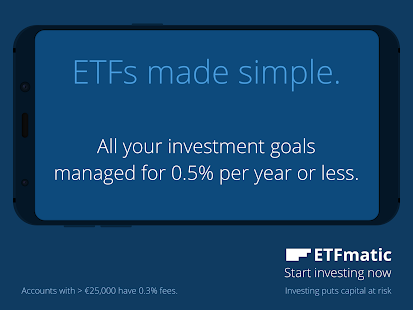 ETFmatic: ETFs made simple- screenshot thumbnail