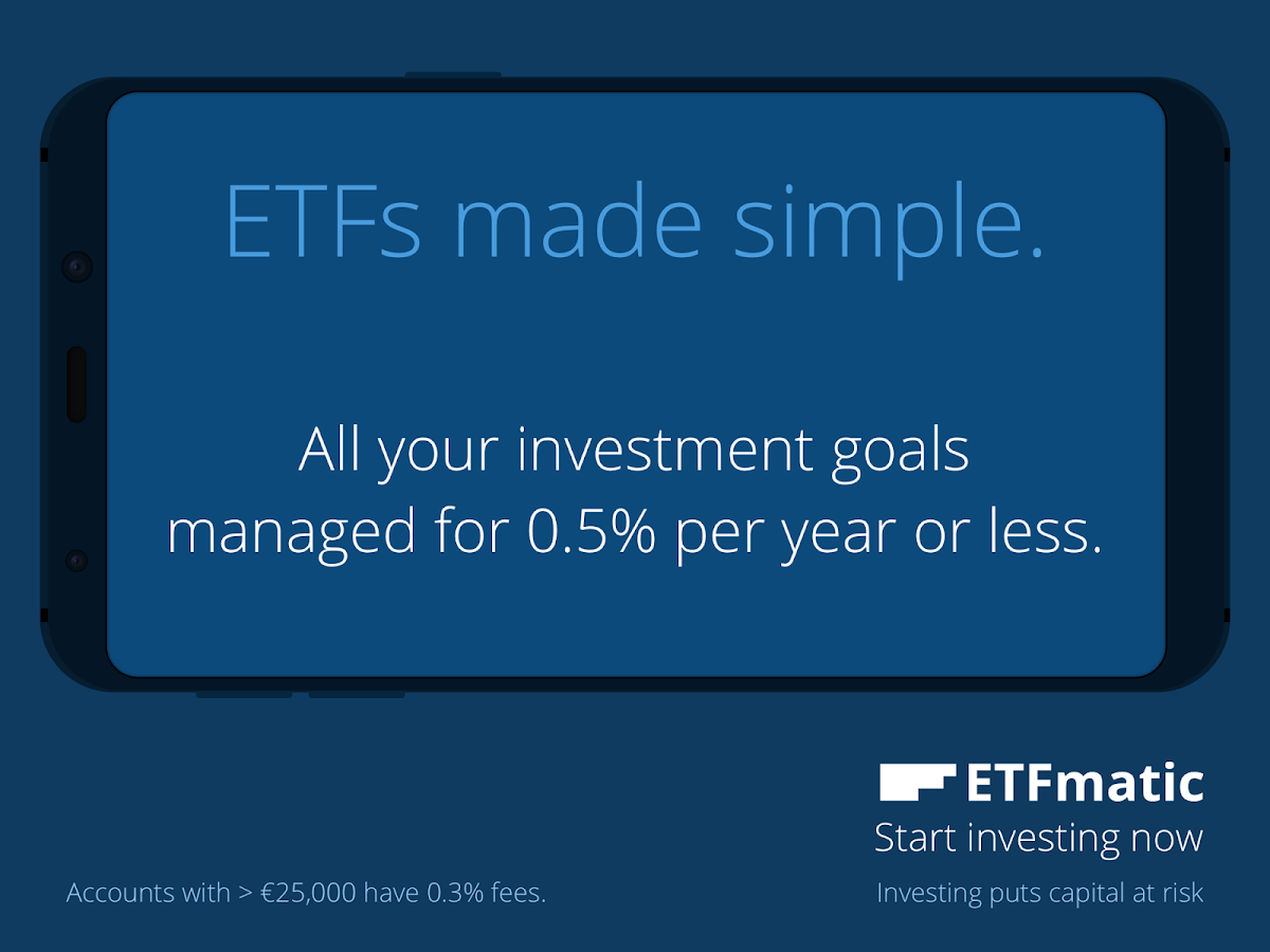 ETFmatic: ETFs made simple- screenshot