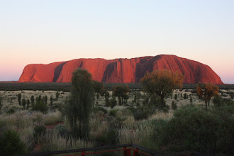 Photo: Year 2 Day 219 - Uluru at 6.40am