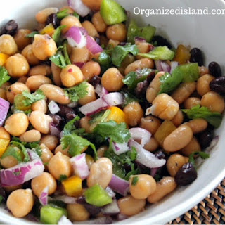 Updated Three Bean Salad.
