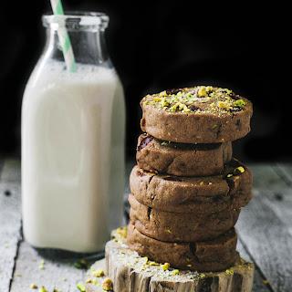 Double Chocolate Pistachio Cookies