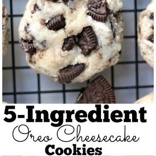 5 Ingredient Oreo Cheesecake Cookies Recipe