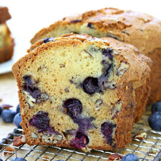 Pecan Blueberry Bread