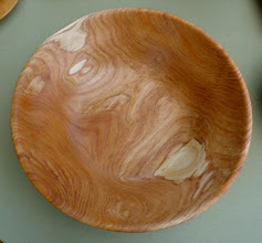 Photo: honey locust salad bowl (sold)