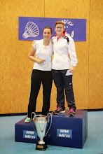 Photo: Simple Dames B 1. Clémence Bloch (ASPTT) 2. Mathilde Berthelot (USCAC)
