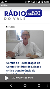 Radio do Vale - AM 820- screenshot thumbnail